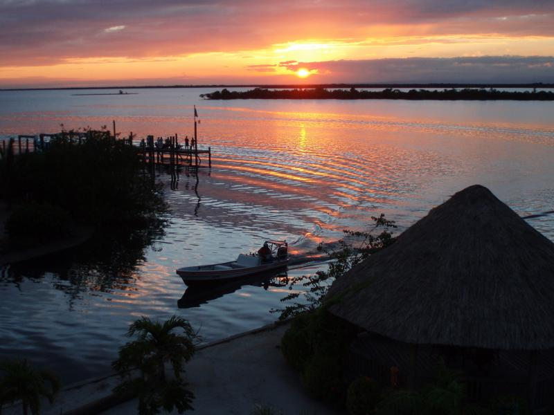 Sunset in Placencia Belize